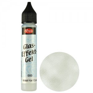 Glass Effect Gel Crystal Clear (Transparent)