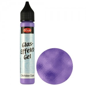 Glass Effect Gel Orchid (Opaque)