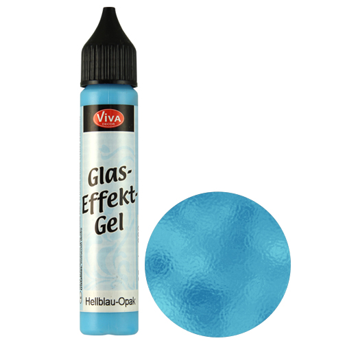 Glass Effect Gel Lightblue (Opaque)