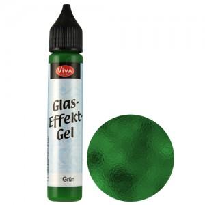Glass Effect Gel Green (Transparent)