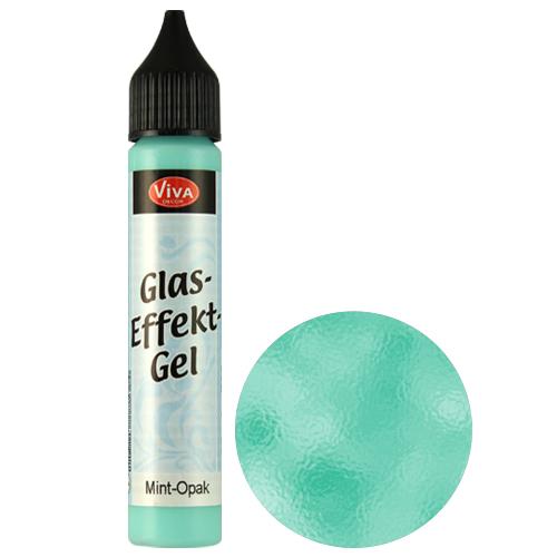 Glass Effect Gel Mint (Opaque)