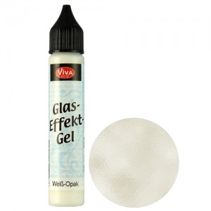 Glass Effect Gel White (Opaque)