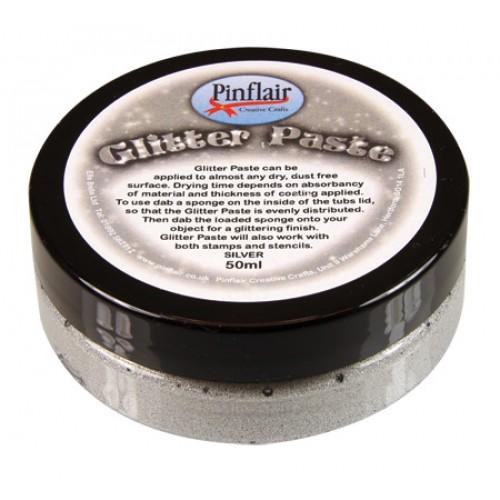 Glitter Paste Silver