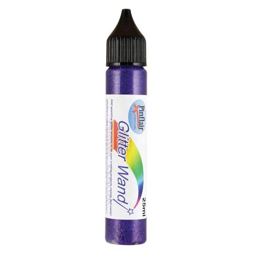 Pinflair Glitter Wand Purple