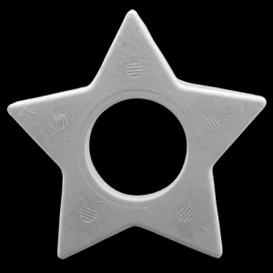 Flat Star With Hole