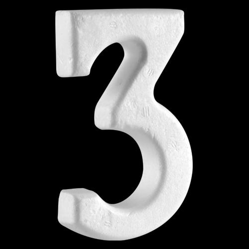 """4"""" (100mm) Number 3"""