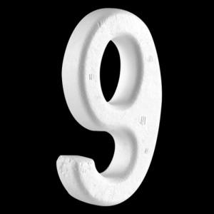 """4"""" (100mm) Number 9"""