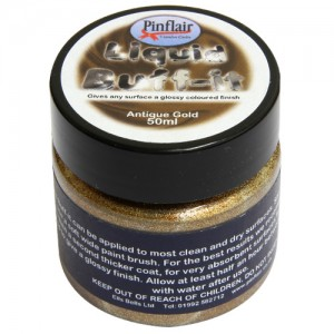 Pinflair Liquid Buff-It Antique Gold