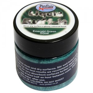 Pinflair Liquid Buff-It Emerald Green
