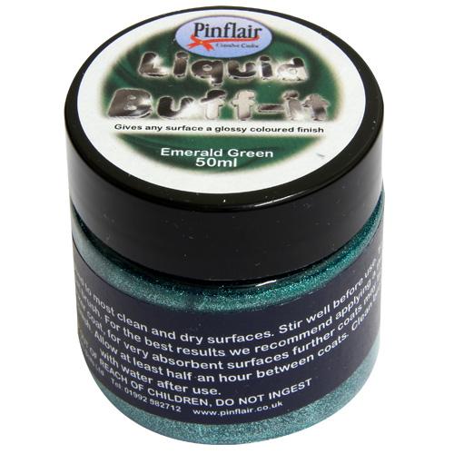Pinflair Liquid Buff-It Emerald Green