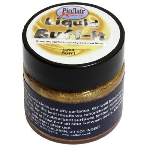 Pinflair Liquid Buff-It Gold