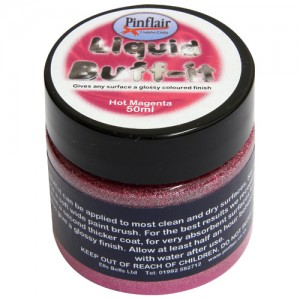 Pinflair Liquid Buff-It Hot Magenta