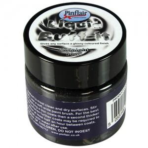 Pinflair Liquid Buff-It Black