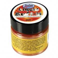 Pinflair Liquid Buff-It Orange