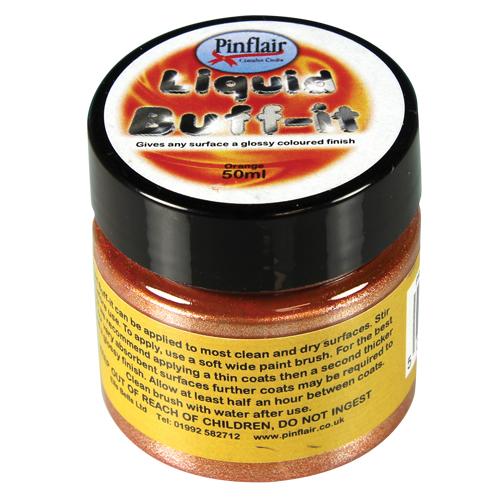 Pinflair Liquid Buff-It Orange