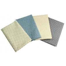 Linen look star fabrics March/April  2020