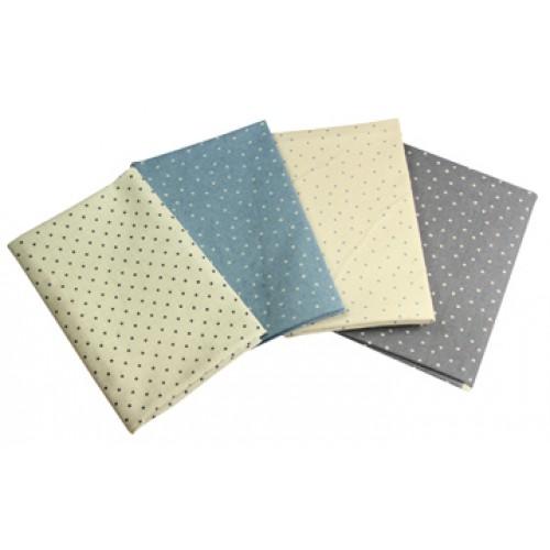 Linen look star fabrics