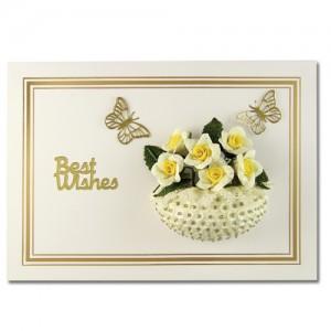 Best Wishes Rose Bowl Lemon