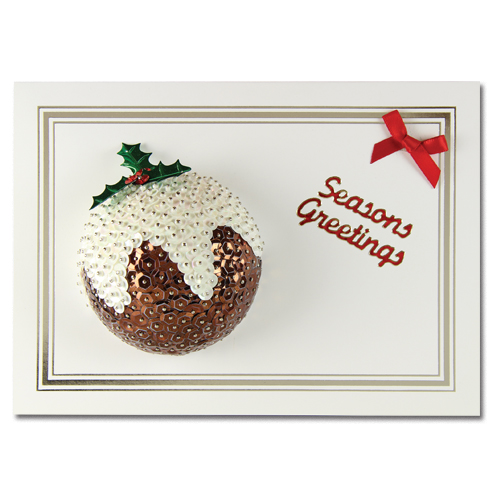 Seasons Greetings Pudding