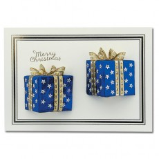 Gift Wrapped Blue
