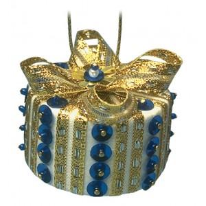 Christmas Parcel Blue