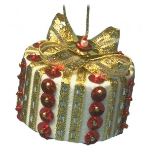 Christmas Parcel Red