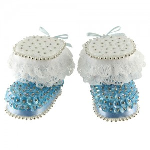 Baby Boots Blue