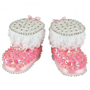 Baby Boots Pink