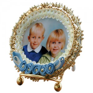 Royalty Frame Antique Blue