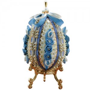 Royalty Egg Antique Blue