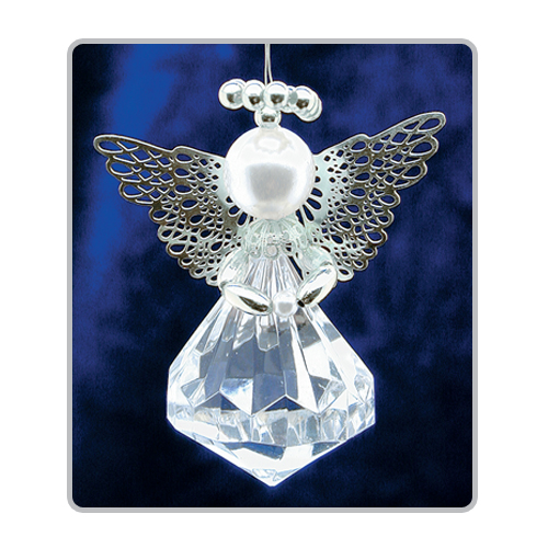 Diamond Cut Angels Silver