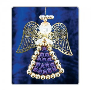 Lattice Angels Purple/Gold