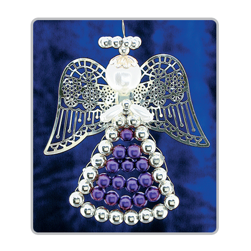 Lattice Angels Purple/Silver