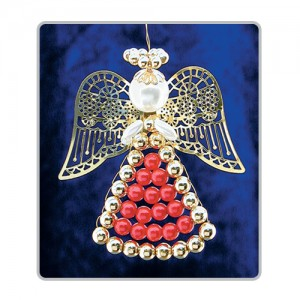 Lattice Angels Red/Gold