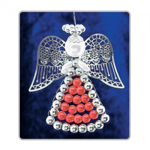 Lattice Angels Red/Silver