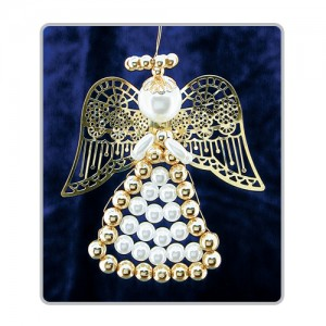 Lattice Angels White/Gold