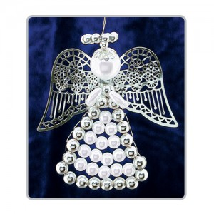 Lattice Angels White/Silver
