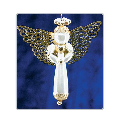 Pearl Drop Angels Gold