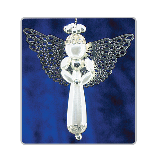 Pearl Drop Angels Silver