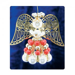 Safety Pin Angels RedGold