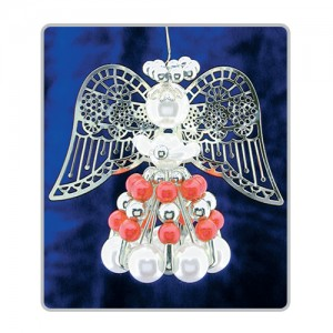 Safety Pin Angels Red/Silver