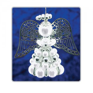 Safety Pin Angels White/Silver