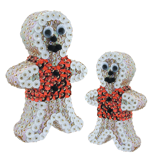 Flat Gingerbreadmen