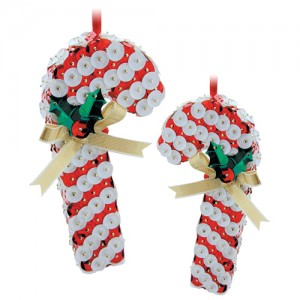Flat Candy Canes