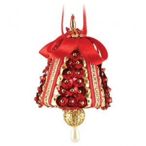 Tiny Chimes Red/Gold