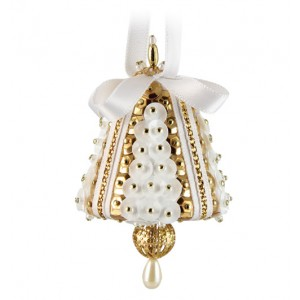 Tiny Chimes White/Gold