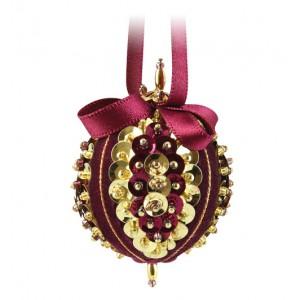 Sweet Noels Burgundy/Gold