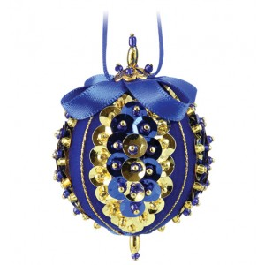 Sweet Noels Blue/Gold
