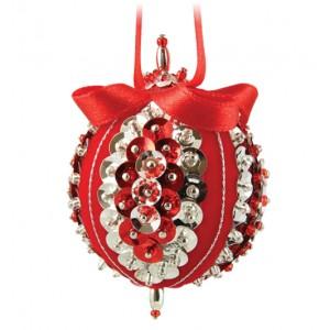 Sweet Noels Red/Silver