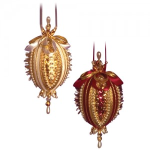 Royal Duet Burgundy/Gold